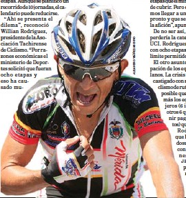 ??  ?? José Rujano abandonó el retiro para participar en la próxima edición