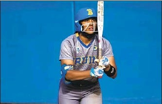 "??  ?? B R A DY is described as ""the future of UCLA softball"" by Bruins coach, Kelly Inouye-Perez."