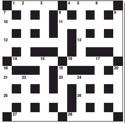 Pressreader The Courier Advertiser Perth And Perthshire Edition 2018 11 21 Cryptic Crossword
