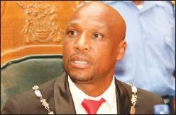 ??  ?? Mutare mayor Blessing Tandi
