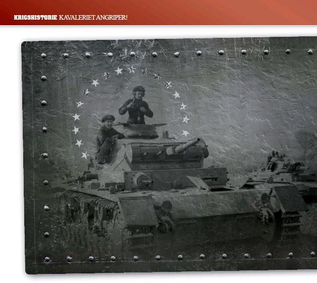 ?? Foto: Bundes Archiv / Rascheit ?? En Panzer under Polenfelttoget i 1939.