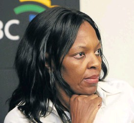 ?? /AFP ?? Light on horizon: SABC acting CE Nomsa Philiso says that despite the disappointing performance in 2016-17, great progress is starting to show in the first quarter of the new financial year.