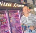 ?? SUN-TIMES | SCOTT STEWART~ ?? Craig Morrall, owner of Nisei Lounge, in Wrigleyville has embraced the Nisei's status as a neighborhood bar.
