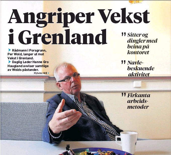 Unike PressReader - Varden: 2016-09-24 - Angriper Vekst i Grenland OM-81