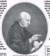 ?? FOTO: WIKICOMMONS ?? Carl Friedrich Christian Fasch