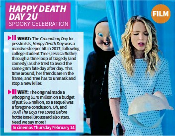 PressReader - NW: 2019-02-04 - HAPPY DEATH DAY 2U