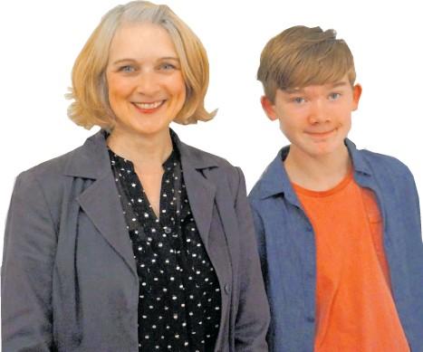 ?? Pictures: Kasper Johansen ?? Bee Denham and her son Fin.