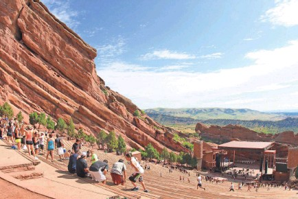 ?? PROVIDED BY DAVID P. FULMER ?? If your family is into outdoor activity and you have a music lover in the family, Denver is the place for you. It's home to Red Rocks Amphitheater, one of the country's most famous music venues.