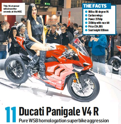 Pressreader Motorcycle News Uk 2018 11 14 11 Ducati Panigale V4 R