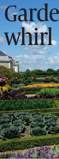 ??  ?? New book Discover France in 100 Destinations (far left) features some of France's most outstanding gardens, including Monet's home at Giverny (left) and the Japanese influences of the Oriental Park of Maulevrier (top left)
