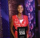 ?? Bild: Christine Olsson ?? År 2018 blev Oumie Jammeh årets modell på Ellegalan.