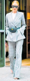 ?? Photo Getty Images ?? Rosie Huntington-Whiteley wears a Georgia Alice outfit in New York City.