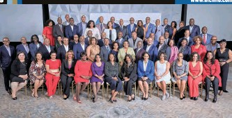 ??  ?? The ELC inducted more than 50 New Members in its Class of 2020 at the 2020 Winter Meeting in Florida; ELC Interim President and CEO Crystal E. Ashby is second row, center. Also far right second row are ELC Board Vice Chair and AT&T Executive Thomas R. Harvey (2nd from right) and ELC Board Director and Nationwide Executive Gale V. King (right), co-chair of The ELC Membership Committee.