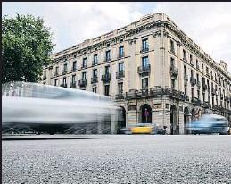 ?? MANÉ ESPINOSA ?? La casa Xifré acogerá el primer hub de blockchain en Barcelona