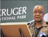 ?? PICTURE: THOBILE MATHONSI ?? David Mabunda, acting chief executive, who testified against George Nair.