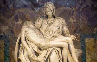 """??  ?? 🔽 """"Pieta"""" (Mourning of Christ) by Michelangelo"""
