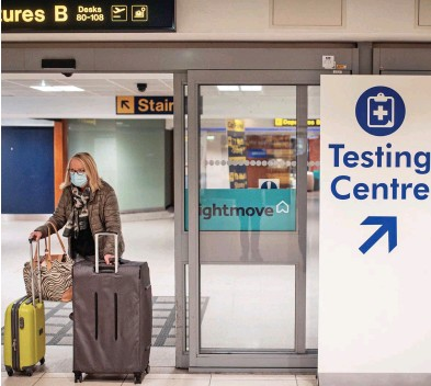 ??  ?? Pummelled by the pandemic: Heathrow has tumbled down the international rankings