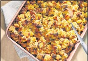 ?? TOMMCCORKL­E FOR THEWASHING­TON POST ?? For this recipe, you can buy cornbread or make your own from scratch or a mix. If buying a mix, buy 2 (8.5-ounce) boxes of corn muffinmix, such as Jiffy.