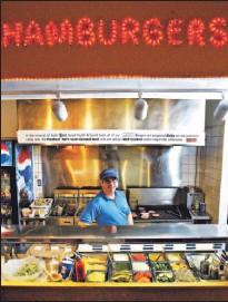 ?? TARA WALTON/TORONTO STAR ?? Michael Facto's family burger joint will soon celebrate two decades.
