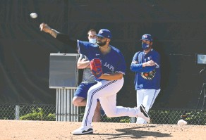 ?? TORONTO blue JAYS ?? Pitcher Alek Manoah says he has learned a lot since being drafted by