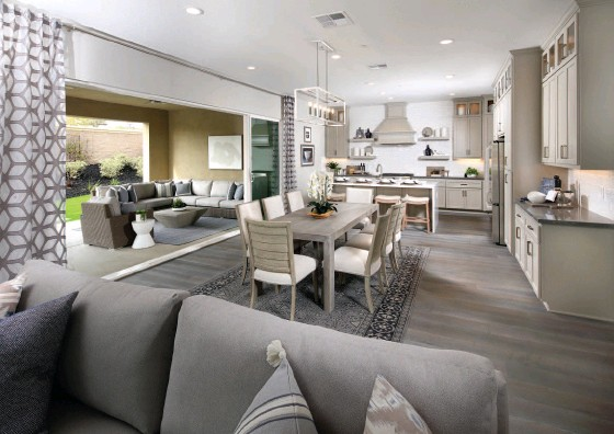 ?? SHEA HOMES ?? With the ideal climate of Monterey Bay, a spacious terrace and a great view, indoor/outdoor living just doesn't get any better.