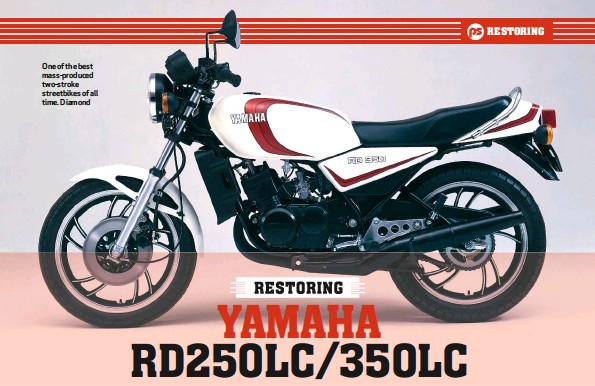 ??  ?? One of the best mass-produced two-stroke streetbikes of all time. Diamond