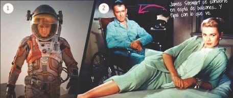 ??  ?? 1 2 convierte James Stewart se Y en espía de balcones... flipa con lo que ve.