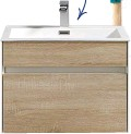 ??  ?? Simplicity oak vanity (60cm L x 48cm H) R4 216.75, Bella Bathrooms