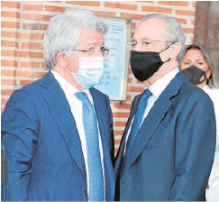 ?? // EP ?? Enrique Cerezo y Florentino Pérez, en la misa
