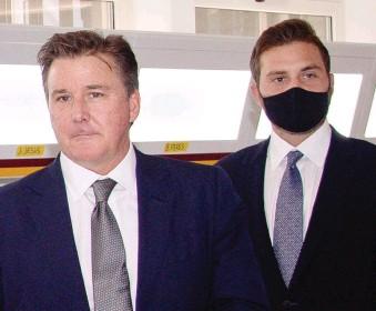 ?? LAPRESSE ?? Dan e Ryan Friedkin, padre e figlio proprietari della Roma: hanno comprato il club giallorosso da Pallotta