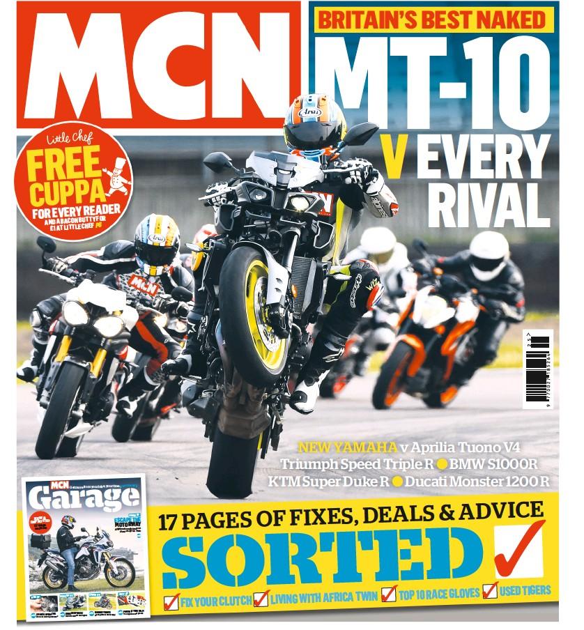 Pressreader Motorcycle News Uk 2016 06 22 Mt 10 V Every Rival