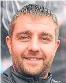 ??  ?? Lochee United boss Stevie Leahy.