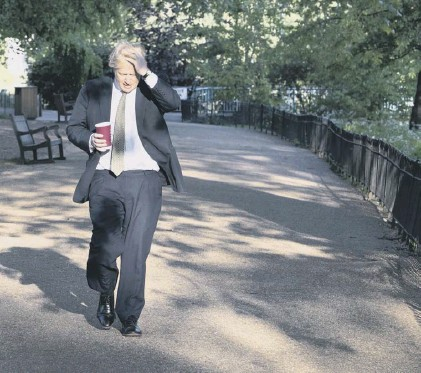 ??  ?? 0 The stakes are high as England's love affair with Prime Minister Boris Johnson appears to be unravelling fast