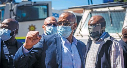 ?? Picture: Gallo Images ?? ON A KNIFE EDGE. Suspended ANC secretary-general Ace Magashule could be expelled from the party if he decides to proceed with legal action.