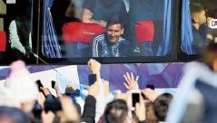 ?? EFE ?? Lionel Messi fue sin duda el más aclamado.