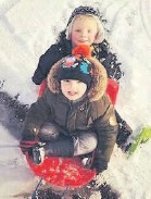 ??  ?? • Zachary, 6, and Toby, 3, Ashworth