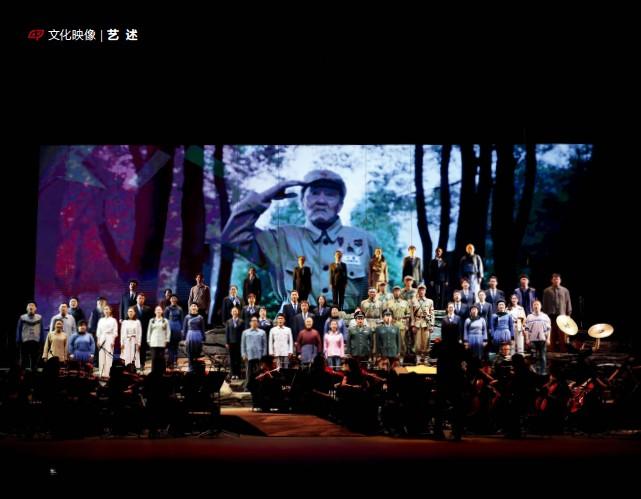 ?? 中国歌剧舞剧院供图 ?? 2021年5月14日—23日,中国歌剧舞剧院音乐会版歌剧《张富清》在北京天桥艺术中心举行首次公演。