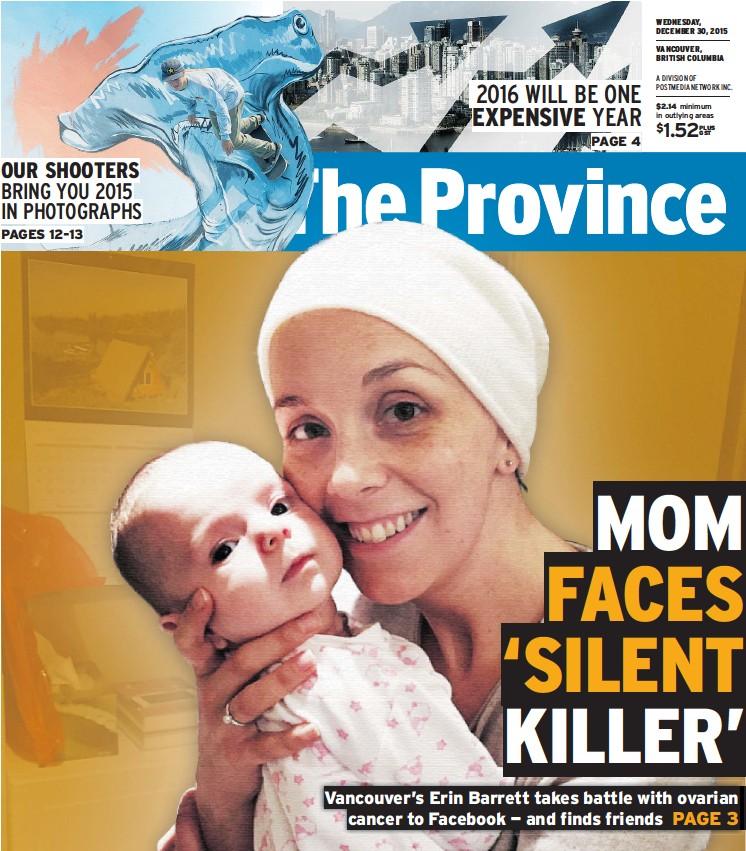 Pressreader The Province 2015 12 30 Mom Faces Silent Killer