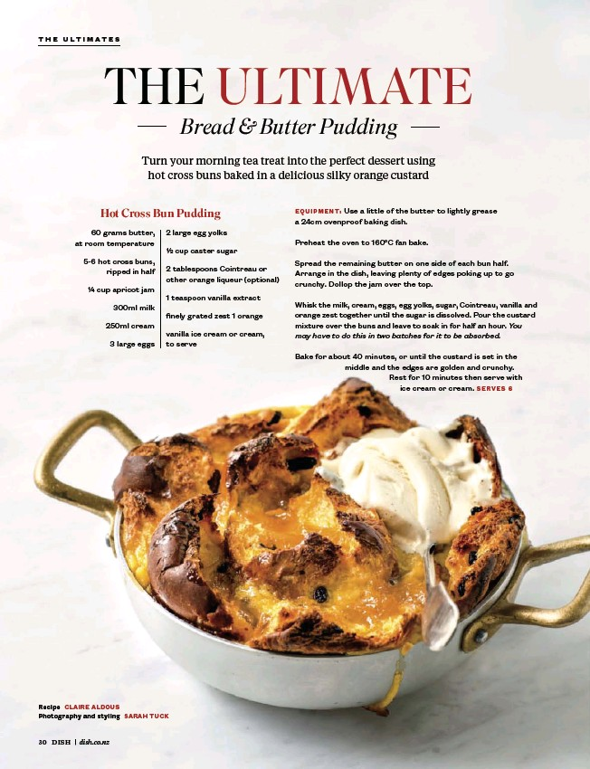 The Ultimate Bread And Butter Pudding Pressreader