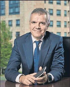 ??  ?? Celestino García, vicepresidente de Samsung España