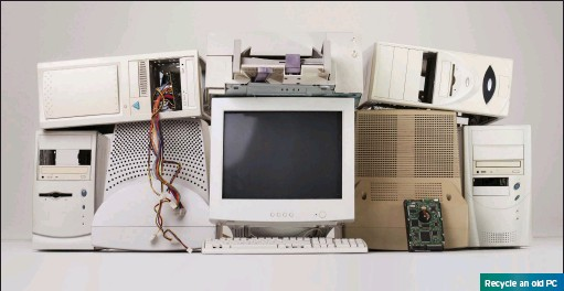 ??  ?? Recycle an old PC