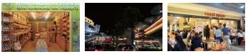 ??  ?? 暹羅區以完善又具設計感的人行天橋,串聯起各大百貨商場