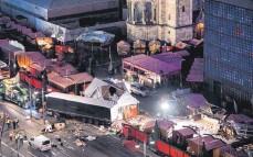 ?? ARCHIVFOTO: BERND VON JUTRCZENKA/DPA ?? Zwölf Menschen wurden Opfer des Anschlags am Breitscheidplatz 2016. Nun gibt es Vorwürfe gegen die Ermittler.
