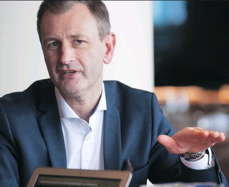 ?? JASON PAYNE ?? Ikea Canada president Stefan Sjostrand says ecommerce will never account for more than 15 per cent of Ikea's sales.