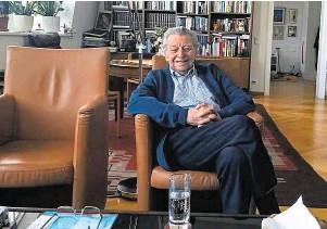 """??  ?? Hugo Portisch, der """"Geschichtslehrer der Nation"""", erlebte den 8. Mai als 18-Jähriger in seiner Heimatstadt Pressburg."""