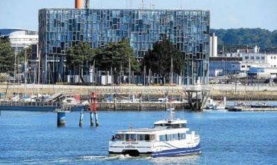 ?? Photo d'archives Le Télégramme ?? L'Ar vag Tredan, en arrêt technique depuis l'été 2019, est au centre des préoccupations de Lorient Agglo.
