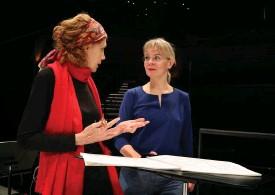 ?? FOTO: MAARIT KYTÖHARJU/PRESSBILD ?? Kompositören Kaija Saariahos verk Vista uruppfördes i onsdags av Helsingfors stadsorkester under ledning av dirigenten Susanna Mälkki.