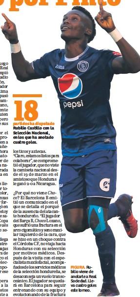 FIGURA. Rubilio viene de anotarle a Real Sociedad. Lleva cuatro goles este  torneo. 99727776e51c7