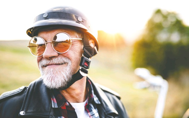 ?? Photos: Getty Imag es / istockphoto ?? Seniors should aim for a retirement filled with physical activity, healthy food and activities that stimulate them both mentally and socially.