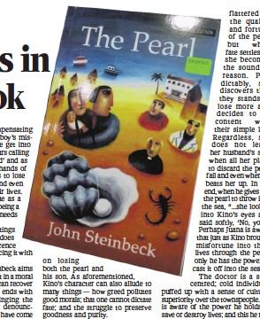 the pearl by john steinbeck kino